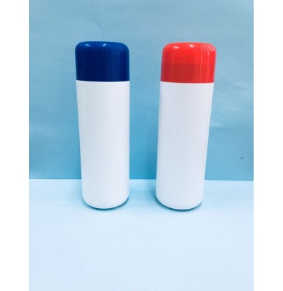 HDPE 100Gm Round Dusting Powder Containers