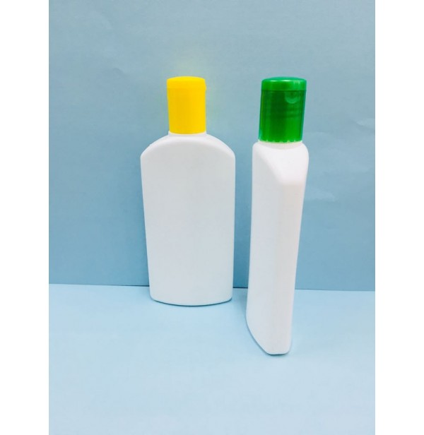 HDPE 100ml Flat Lotion & Oil Bottle