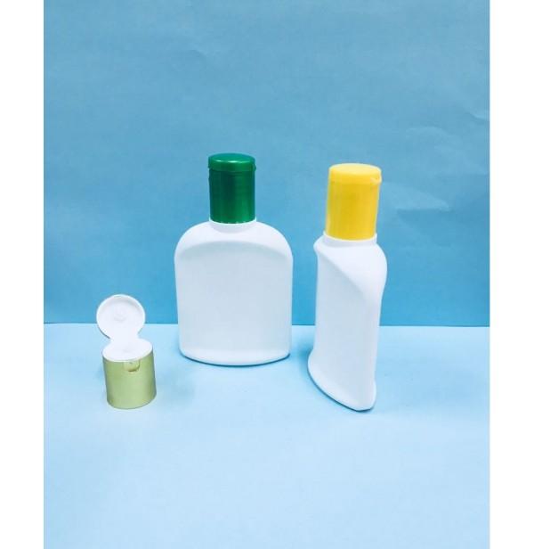 HDPE 50ml Lacto Lotion & Oil Bottle