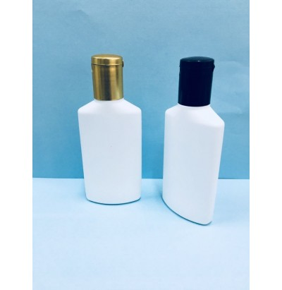 HDPE 60ml Flat Lotion & Oil Bottle
